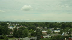 Kentucky city skyline midwestern Stock Footage