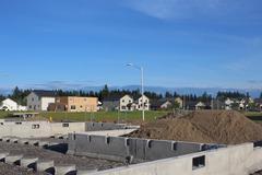 Building House - stock photo
