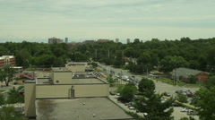 Lexington Kentucky skyline Stock Footage
