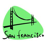 San Francisco CA USA Piirros