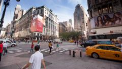 Macy's New York City Stock Footage