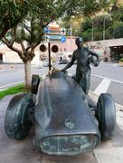 Monument concept of Formula 1, on the waterfront in Monte Carlo Kuvituskuvat