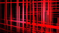 red grid space - stock footage