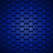 Stock Illustration of Seamless square pattern blue black blurred