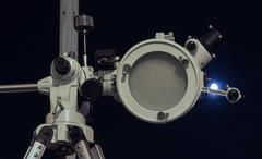 Astronomical telescope - stock photo