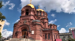 Orthodox Cathedral Stock Footage