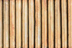 old wood panel background texture - stock photo