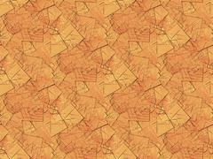 Seamless pattern fragments brown - stock illustration