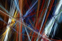 Abstract beautiful colorful lines background Stock Illustration