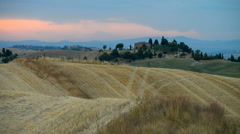 Landscape in Tuscany, Italy, Europe Stock Footage