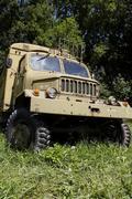 Czech army truck Stock Photos