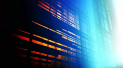 grid lights glow - stock footage