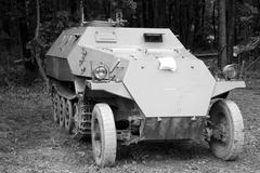 German armoured conveyer OT810 Stock Photos