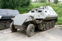 Armoured conveyer  OT810 Stock Photos