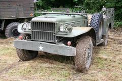 military vehicle - stock photo