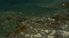 Croatian coast Stock Footage