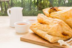 Puff Pastry for Tea Break / Puff Pastry - stock photo