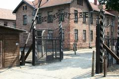 Stock Photo of Concentration camp Oswiecim