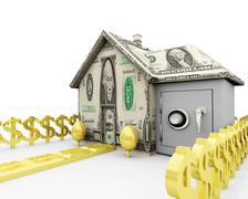 Assets - Home Equity - stock illustration