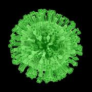 H1N1 Virus - stock illustration