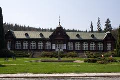 health-resort Kalova Studanka - stock photo
