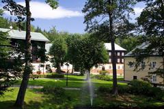 Health-resort Kalova Studanka Stock Photos