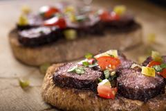 Spicy Meatball Sandwich Stock Photos