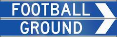 Football Ground In Australia - stock illustration