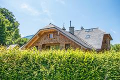 Rural Home - stock photo