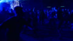 Moshpit on a Betraying The Martyrs concert at Metaldays Festival Stock Footage