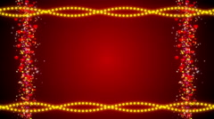 Wedding abstract background, frame, loop Stock Footage