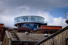 Gravity bar at Guinness Brewery Dublin - stock photo