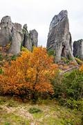 Meteora Rocks, Trikala region, Greece Stock Photos