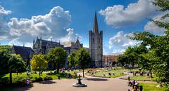 St Patrick's Cathedral - stock photo