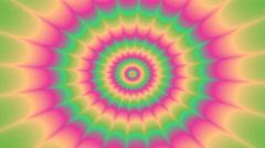 Psycho pattern seamless loop 4K UHD video Stock Footage
