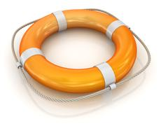 Lifebuoy - stock illustration