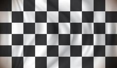 Checkered Race Flag Stock Illustration