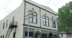 The Masonic Hall at Fort Edmonton Stock Footage
