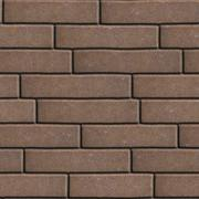 Brown Figured Pavement  Slabs as Rectangles Arranged Horizontally - stock illustration