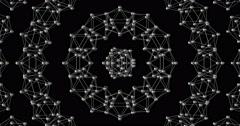 Visual EDM Techno Club Vj Abstract Stock Footage