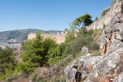 castle of Alanya - stock photo