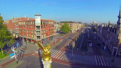Bossche Gouden Draak Aerial Stock Footage