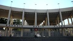 Maracanã Stadium , Rio de Janeiro Stock Footage