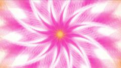 4k Abstract whirl gear flower pattern background,light space,windmill energy. Stock Footage