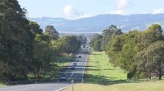 Stock Video Footage of Freeway Highway Autobahn Motorway in the country