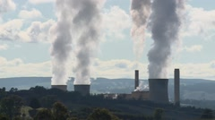 Power Station Close Up (Static) Stock Footage