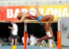 Lucija Zubcic of Croatia - stock photo