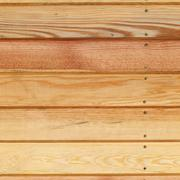 Wood plank panel background decorated wall in house Stock Photos