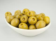 Olives stuffed with anchovies Stock Photos