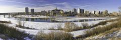 Saskatoon Panoramic Stock Photos